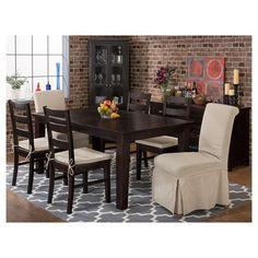 Prospect Creek Pine Three Rung Ladderback Dining Chair Wood/Dark Brown (Set of 2) - Jofran Inc.