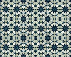 mandala iznik: pouf islamico Archivio Fotografico