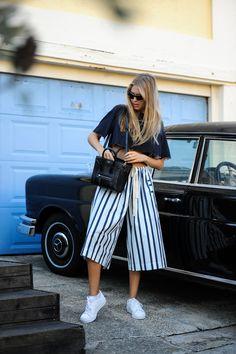 Celeste Tesoriero Spring / Summer Photography: Alice Boshell www.celestetesoriero.com Bassike top Adidas originals Pared Eyewear Celine bag