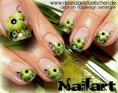 Grüne Blümchen
