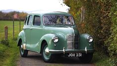1948 Austin A40 - first car that I can remember my Dad having.  Ours was grey though