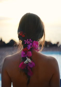 Flower braid...