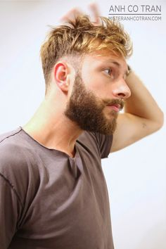 MEN'S CUTS MONDAY! Cut/Style: Anh Co Tran. Appointment inquiries please call Ramirez Tran Salon in Beverly Hills: 310.724.8167