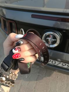 Mickey Mouse Nails and Mustang My Love :-)
