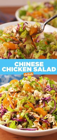 Chinese Chicken Mandarin Salad