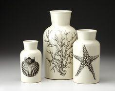 Laura Zindel: Set of 3 Jars: Sea Life