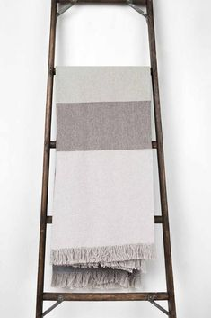 Grey tones, cozy and modern. Adirondack Throw Blanket | United By Blue