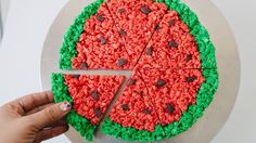 How to Make Watermelon Rice Krispies on video.teenvogue.com
