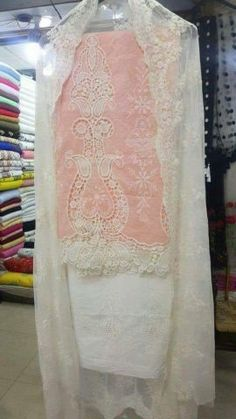 Stylish Dress Designs, Designs For Dresses, Stylish Dresses, Pakistani Fashion Casual, Pakistani Outfits, Ethnic Fashion, Desi Wedding Dresses, Embroidered Lace Fabric, Beautiful Suit