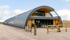 This luxurious eco-home was once a dilapidated World War One Nissen hut