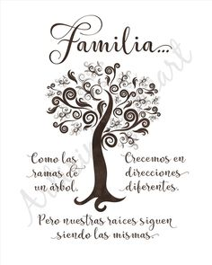 Family Quotes In Spanish Leadership Quote, Spanish Inspirational Quotes, Spanish Quotes, English Quotes, Inspiring Quotes, Family Wall Art, Family Theme, Motivational Phrases, Leadership Quotes, Printable Quotes