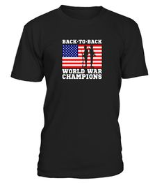 "# America USA back to back World War Champions patriotic shirt .  Special Offer, not available in shops      Comes in a variety of styles and colours      Buy yours now before it is too late!      Secured payment via Visa / Mastercard / Amex / PayPal      How to place an order            Choose the model from the drop-down menu      Click on ""Buy it now""      Choose the size and the quantity      Add your delivery address and bank details      And that's it!      Tags: Celebrate the United…"