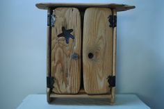 Driftwood Cabinets   Driftwood and Seaglass Cabinet.