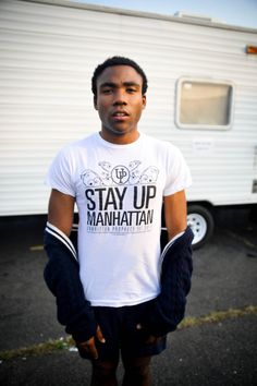 Donald Glover...I can't wait to see him in a few weeks!