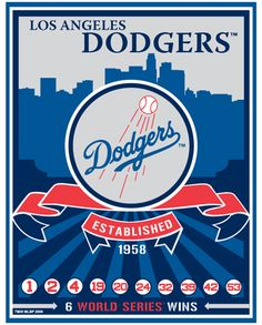 """The Los Angeles Dodgers ~ Our """"Favorire"""" team!"""