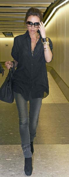 Dear stitch fix stylist. I love the classic casual style of Victoria beckham xox- Kristen #stitch_fix_edgy_style