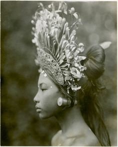 exquisite profile - balinese woman