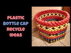 5 Creativas con Tapas de Botella Plástica - YouTube