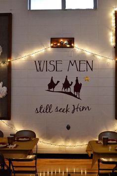 Ward Christmas Party: Wise Men Still Seek Him
