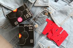 showing you guys how I Upcycle an old denim jacket with Dylon's black velvet machine dye into a great piece of autumn outerwear. Black Fabric, Black Velvet, Upcycle, Denim, Fashion, Moda, Upcycling, La Mode, Repurpose