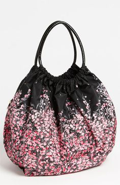 RED Valentino 'Lily of the Valley Print' Balloon Bag available at #Nordstrom