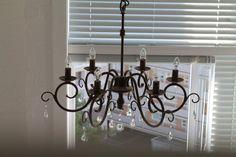 chandelier - design by Karoline B.  www.facebook.com/karolinebdesign