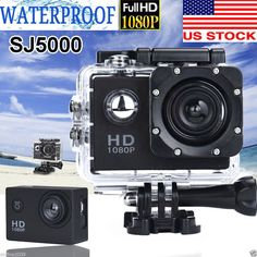 Action Sport Camera Full HD 1080P Camcorder Waterproof Sport Camera DV Charger #onfine2009
