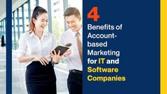 Learn about the 4 benefits of account-based marketing for IT and software companies and how this approach impacts lead gen strategies. Marketing Channel, Sales And Marketing, Marketing Approach, Marketing Strategies, Sales Prospecting, Competitive Analysis, Display Ads, Lead Generation, Good News