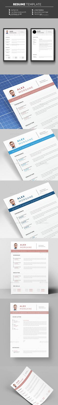 resume cv resume template template and professional resume