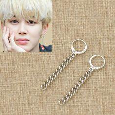 Earrings Tel Drop Jewellry China Bts Jimin Stud Dangle Fans Circle Charm Gift Ebay Fashion