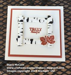 Craftastic Days with Stacy:  Stampin' Up! Paper Pumpkin September 2015 Wickedly Sweet Treat kit