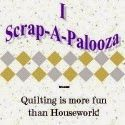 Quilting is more fun than Housework...: Scrap-A-Palooza! Quilt #10 Part Two