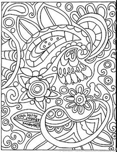 Abstract Paisley rug hook paper pattern, copyrighted, www.karlagerard.com