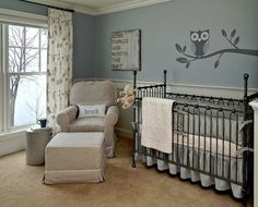 "Nursery Ideas For Baby Boys. I love everything about this room! ""Some things are worth the wait""."