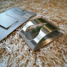40121 GENIO towel clip / ドイツZACK社のステンレス製モダンデザインのタオルクリップ