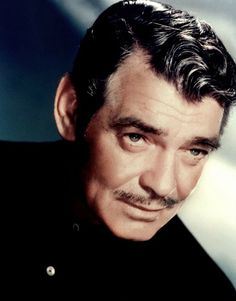 On this picture, Clark Gable reminds me of my Grandfather...