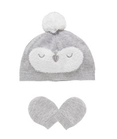 I'm shopping Penguin Hat and Mitts Set in the Mothercare iPhone app.