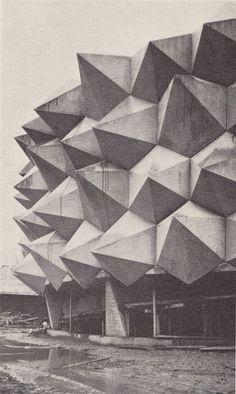 I love Triangles!    Swiss National Exhibition in 1964 from  Schweizerische Polierzeitung