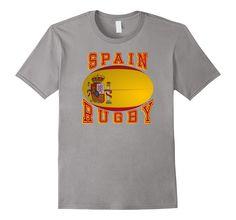 #Spain #España #Rugby Ball #tshirt #rugby7s national #rugbyshirts #tshirts #rugbyleague #RugbySevens #worldrugby  http://amzn.to/2b9uH3U