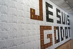 """Fernando Renes. #Exposición """"Cibernética y Nutrición"""" #DA2DomusArtium #Salamanca #Arte #Art #ArteContemporáneo #ContemporaryArt #Arterecord 2016"""