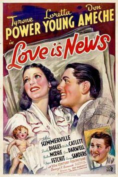 Love Is News 1937
