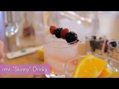How To Make Skinny Drinks (Video) - Everybody Loves Cocktails