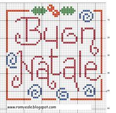 Buon Natale Cross Stitch
