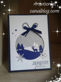 Photo Album Scrapbooking, Stamping Up, Christmas 2019, Yule, Homemade Cards, Reindeer, Cardmaking, Christmas Cards, Greeting Cards