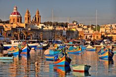 Marsaxlokk, Malta Home to Marsaxlokk fish market, a sprawling and endless market held each Sunday in town!