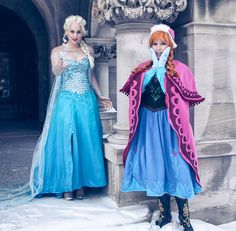 Frozen Cosplay Cosplayers: Lisa Rosenberg and Meagan Marie Photographers: Jane Ferguson and Carla Haglund