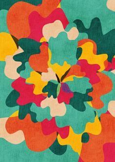 So pretty -- an Aloha Camo Art Print by Budi Satria Kwan Pattern Art, Pattern Design, Shape Design, Mode Camouflage, Textures Patterns, Print Patterns, Teen Art, Print Wallpaper, Throw Cushions