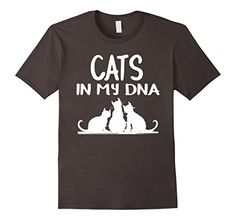 Men's Cats In My DNA T-Shirt | Gift Shirt For Cat Lovers ... https://www.amazon.com/dp/B06XBZTW97/ref=cm_sw_r_pi_dp_x_M-cTybH0KT2CN  #Cat_Lovers_Shirts #Cats_TeeShirts #Cats_in_my_DNA
