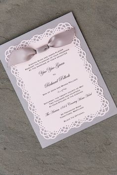 Procopio Photography.; Romantic Maryland Wedding At Antrim 1844 from Procopio Photography. - wedding invitation