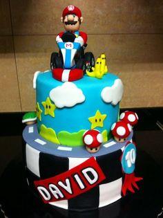 Mario kart Cake by Eliane Rodrigues